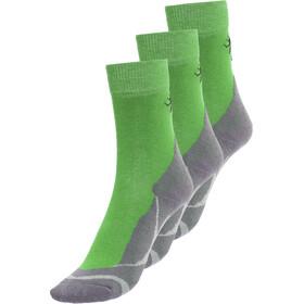 axant Trekking - Pack de 3 paires de chaussettes enfant - vert